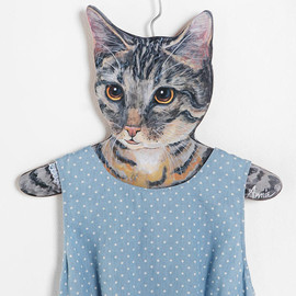 urban outfitters - Animal Clothes Hanger  Grey Cat