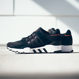 adidas - EQT Running Support - Black/Infrared