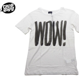 CHEAP MONDAY - Tyler Printed Tee Wow!