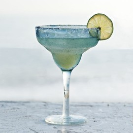 west elm - Bubble Margarita Glasses