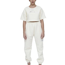 MY MUM MADE IT pty ltd - Quilted Sweat Pants - Cream