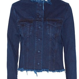 Marques' Almeida - Frayed denim jacket