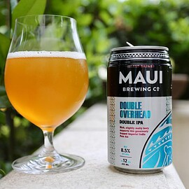 MAUI BREWING CO. - Double Overhead Double IPA