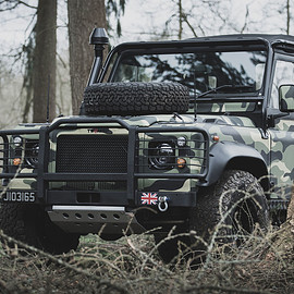 Land Rover, Tweaked Automobile - Defender - Military Edition