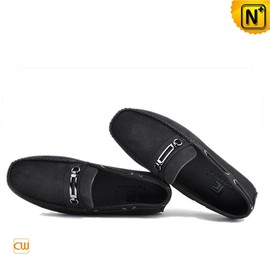cwmalls - Mens Leather Tods Driving Shoes CW740336