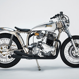 Norton - Trackmaster special motorcycle by NYC
