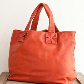 united bamboo - LEATHER ORIGAMI BAG
