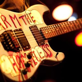 "Guitar ""Arm The Homeless"""