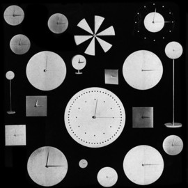 Verner Panton - Vitra clock collection by Verner Panton 1961