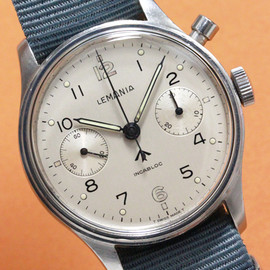 LEMANIA - Military Chronograph Cal.2220