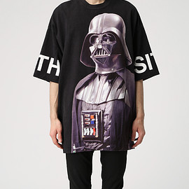 UNDERCOVER, STAR WARS - BIGTEE SW総柄【SW】BLAC BASE UCQ4811-1