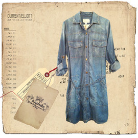 Current Elliott - Denim Shirt Coat