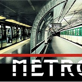 Larry Yust - Metro: Photographic Elevations of Selected Paris Metro Stations