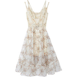 Christopher Kane - Christopher Kane Bow Embellished Jacquard Dress