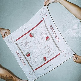 A.N.D. - A.N.D.×MACCIU / collaboration BANDANA