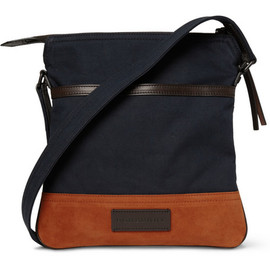Burberry - Burberry Shoes & AccessoriesSuede and Canvas Messenger Bag