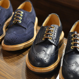 Tricker's - NAVY KESWICKS