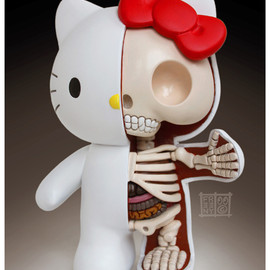 Jason Freeny - hello kitty