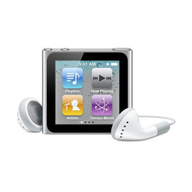 Apple - iPod nano 8GB (Silver)