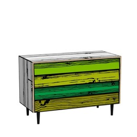 Richard Wood & Sebastian Wrong - Wrongwoods Chest of Drawers