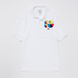 LACOSTE, Peter Saville - 80th Anniversary Colorwheel Graphic Polo