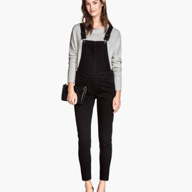 H&M - overall black