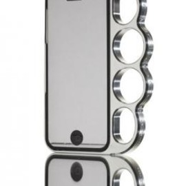 knucklecase - knucklecase(ナックルケース) for iPhone 5 Classic Silver