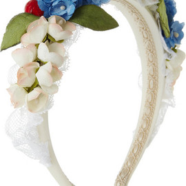 Dolce&Gabbana silk and cotton-blend headband - Dolce & Gabbana