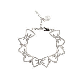 Alexis Mabille - Crystal Bow Bracelet