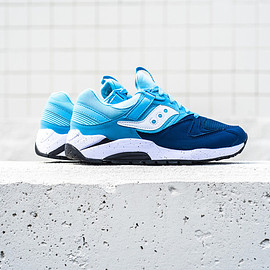 SAUCONY - Saucony Grid 9000 - Navy/Blue/Black/White