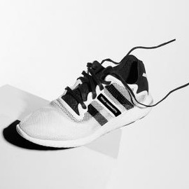 Y-3 - ADIDAS Y-3 YOHJI BOOST PURE WHITE/BLACK