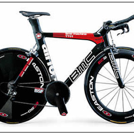 BMC - TT01 TeamRed Time Trial Road Bike