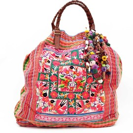 pompomelo - maxi shoulder bag
