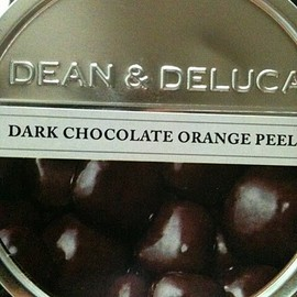 DEAN & DELUCA - dark chocolate orange peel