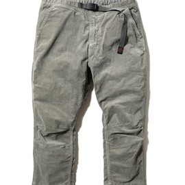 nonnative - CLIMBER EASY SHIN CUT PANTS  OVERDYED C/P CORD STRETCH by GRAMICCI  for RISING SUN ROCK FESTIVAL