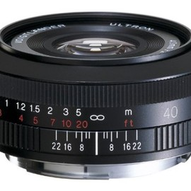 COSINA - VoightLander ULTRON 40mm F2 SL II