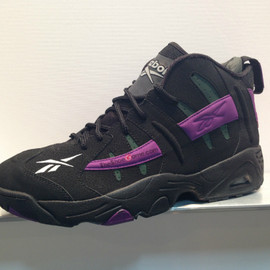 Reebok - Rail Retro - Black/Green/Purple