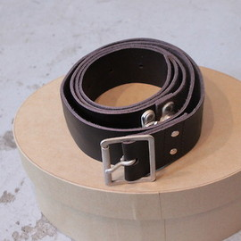 TAKAHIROMIYASHITA The SoloIst. - 35mm single pin easy release buckle belt.