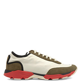 MARNI - Suede-panelled low-top trainers