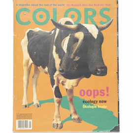Oliviero Toscani, Tibor Kalman - COLORS Issue#6 ECOLOGY