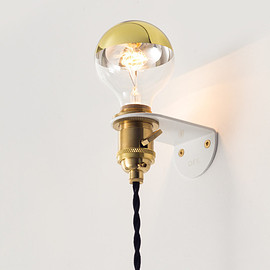 Old Faithful Shop - OFS. Brass Wall Sconce