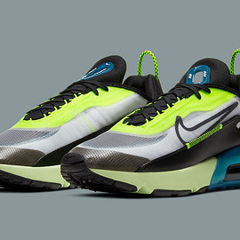NIKE - Air Max 2090 - Black/White/Volt/Blue Force