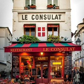 Paris Cafe in the Marais- Chez Julien -