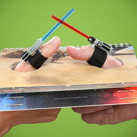 ThinkGeek - Star Wars Lightsaber Thumb Wrestling