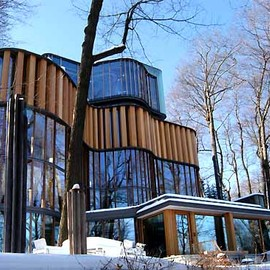 Brigitte Shim architect - Private Residence, Toronto, Canada, Outside Winter view