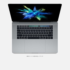 Apple - MacBook Pro (Late 2016) 15-inch with Touch Bar and Touch ID スペースグレイ
