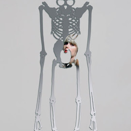DOMESTIC - Skeleton ミラー
