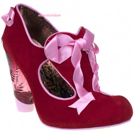 IRREGULAR CHOICE - FAIRIES IN A JAR  (red