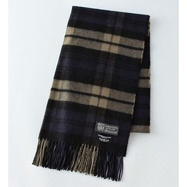 JOHNSTONS - johnstons wool cashmere muffler