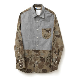 GDC - military crazy tub collar shirt